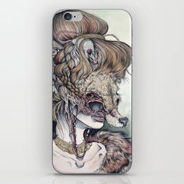 Vulpes Masquerade, now as a print! iPhone Skin