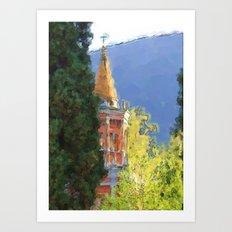 Italia in Color 2 Art Print