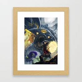 Roshan Framed Art Print