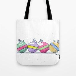 Christmas Balls Tote Bag