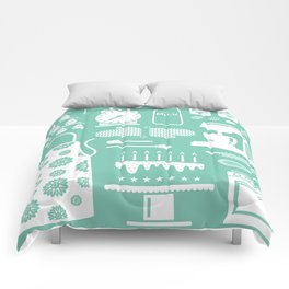 Baking Graphic Comforters