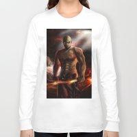 doom Long Sleeve T-shirts featuring Doom by ED Art Studio
