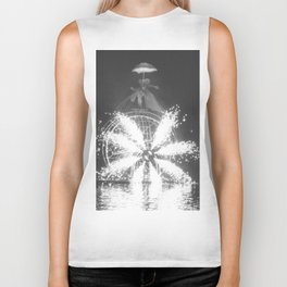 """Wonders on a water"" Biker Tank"