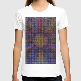 Surya Invocation (Sun) - Magick Square Yantra Tantra T-shirt