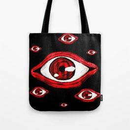 Alucard eye Tote Bag