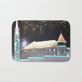 Altes Gefängnis Landshut Nachts Bath Mat