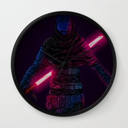 Star Wars digital artwork lightsaber Sith Star Wars:  The Force Unleashed II video game video games science fiction Alan Iwanowski-Pineiro simple background Wall Clock
