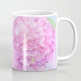 Pink Hortensias and other flowers Coffee Mug