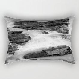 Athabasca Falls long exposure Rectangular Pillow