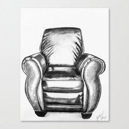 ChillChair Canvas Print