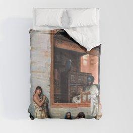 Jean-Leon Gerome - The Slave Market - Digital Remastered Edition Comforters