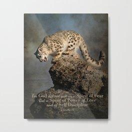 Spirit of Power Metal Print