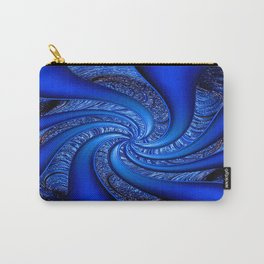 Twisted in Blue... Carry-All Pouch
