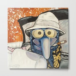 Fear & Loathing Gonzo Metal Print