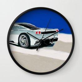 Italian Supercar Wall Clock