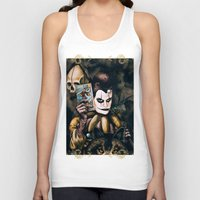 tarot Tank Tops featuring Tarot & Totems by Chad Savage