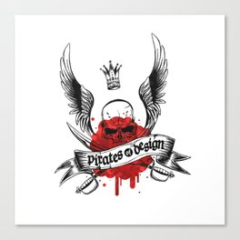 Pirates of Design Canvas Print