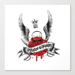 Pirates of Design Canvas Print