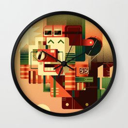 Free Fall Wall Clock