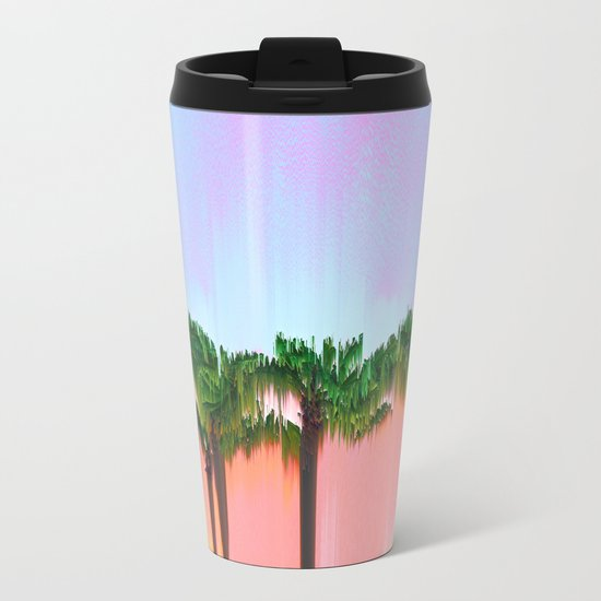 Palms Metal Travel Mug