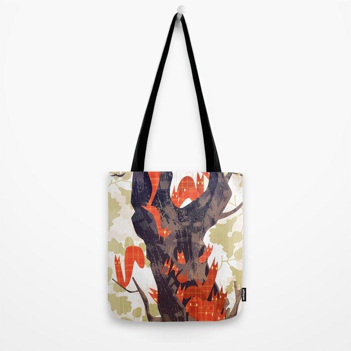 The Devils of Dark Bark Tote Bag