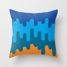 British Summer Throw Pillow