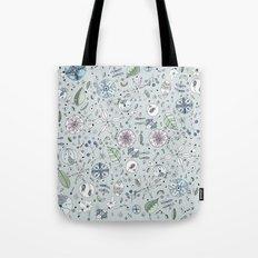 Globos en el jardín Watercolor Tote Bag