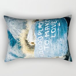 Make Love Rectangular Pillow