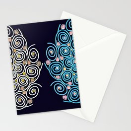 Mandala Duo Stationery Cards