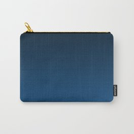 Shades of PANTONE Classic Blue Color Of The Year 2020 Carry-All Pouch