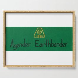 Agender (earth) Serving Tray