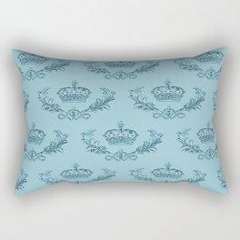 Noblesse Oblige - Georgian Blue Rectangular Pillow