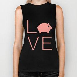 Love Pigs Super Cute And Very Fun Love Gift Idea Design Biker Tank