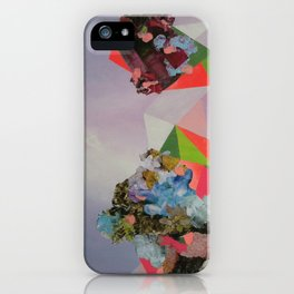 Mineral Fracture iPhone Case