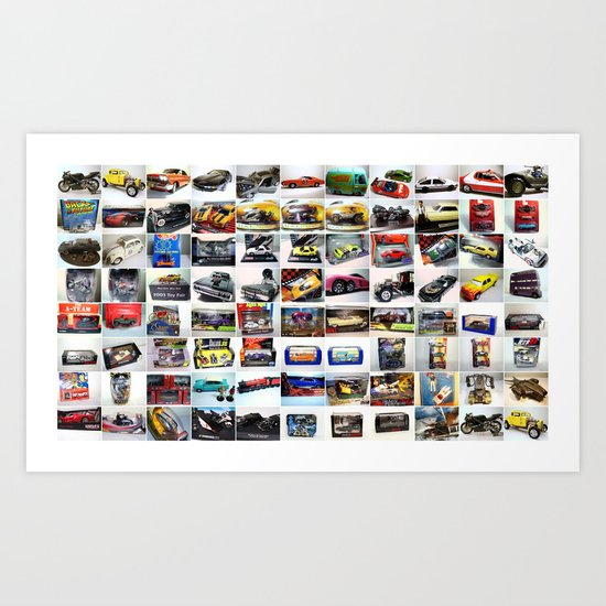 MovieRepliCars Poster Art Print