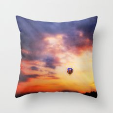 Heaven's Door Throw Pillow