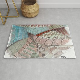 Meandering Landscapes: Welcoming Pathway Rug