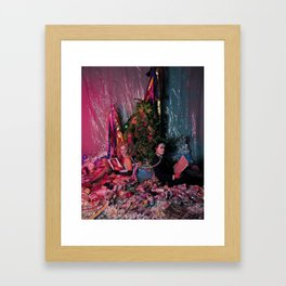 The Devil Framed Art Print