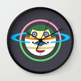 Spaceman 1 Wall Clock
