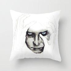 detail insomnia Throw Pillow