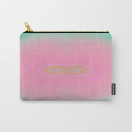Pink Sun Lip  Carry-All Pouch