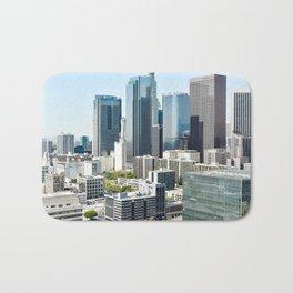 LA Skyscrapers Bath Mat