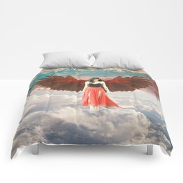Lady of the Clouds Comforters