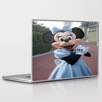 minnie mouse Laptop & iPad Skins featuring Minnie Mouse by Jackash14