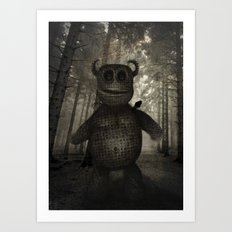 In the forest. Art Print