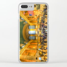 Grand Central Station New York Clear iPhone Case