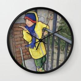 Bright Spot Wall Clock