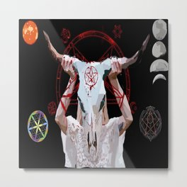 Let's Summon Metal Print
