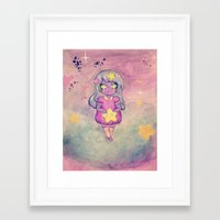 lumpy space princess Framed Art Prints featuring Lumpy Space Princess by Rachel