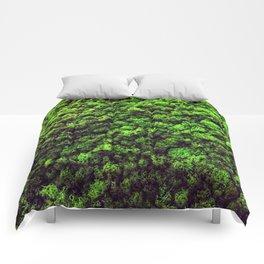 Dark Green Moss Comforters